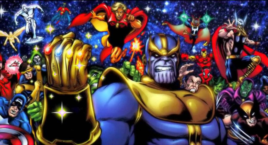 Até Eduardo Cunha, ops, Thanos tem a Manipula, ops, Manopla do Infinito.