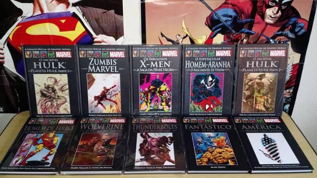 Coleção de Graphic Novels da Marvel