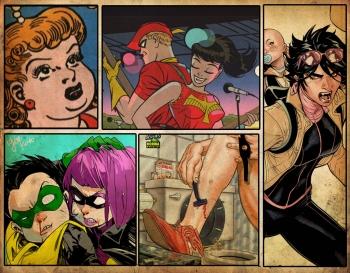 Os Sidekicks: Lutando Lado a Lado Com os Super-Heróis