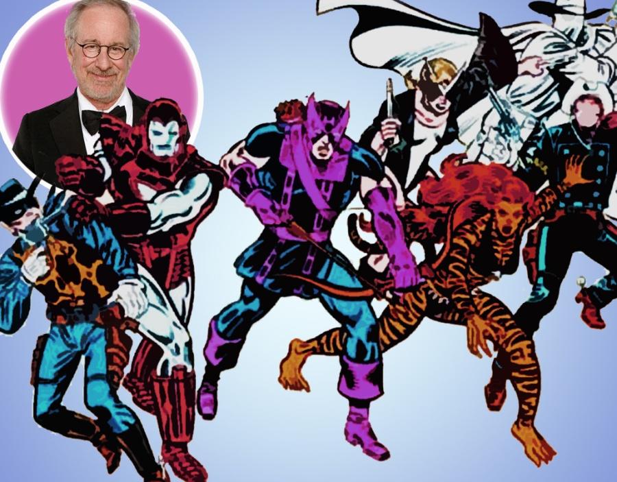Spielberg dando uma de Vingador já que não dirigiu nenhum filme de heróis...