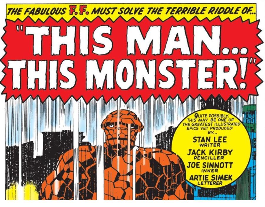 Esse homem... Esse monstro! Esse herói do faroeste... Esse super-herói!