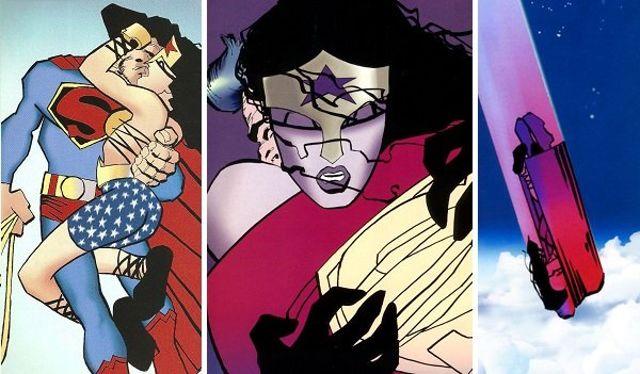 Teoria do caos: Superman e Diana fazem sexo aqui...