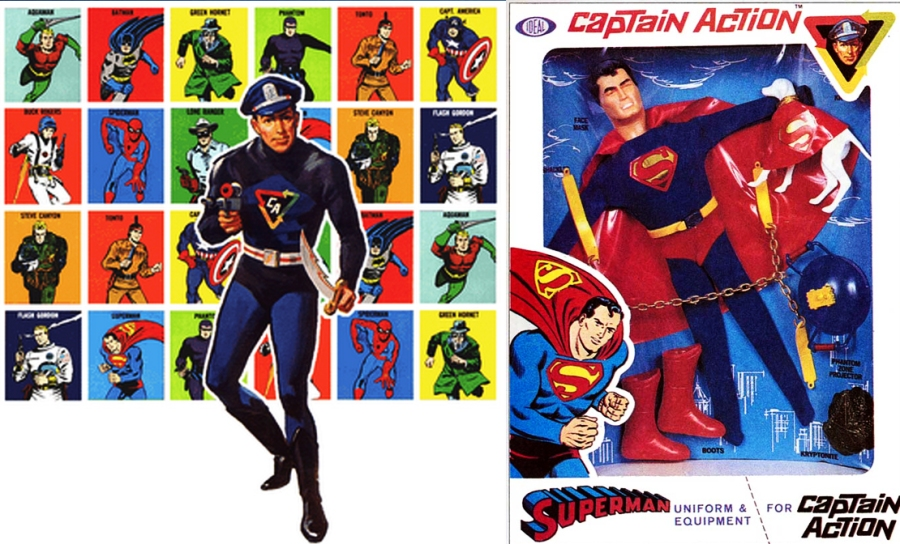 Capitão Luzes (check!). Capitão Câmera (check!). Capitão Ação (check!).