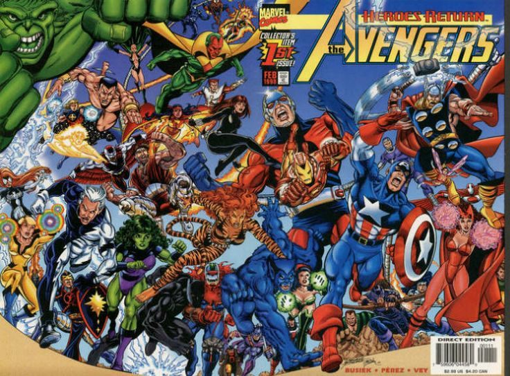 Essa memorável grande grande reunião de Vingadores! (Suspiro!)