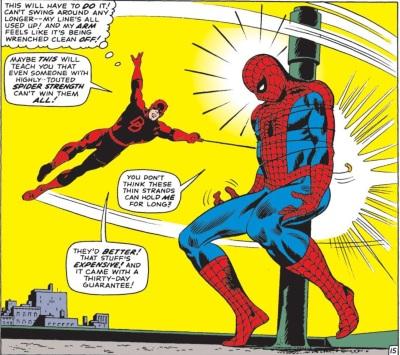 Se enrolando com o Aranha!