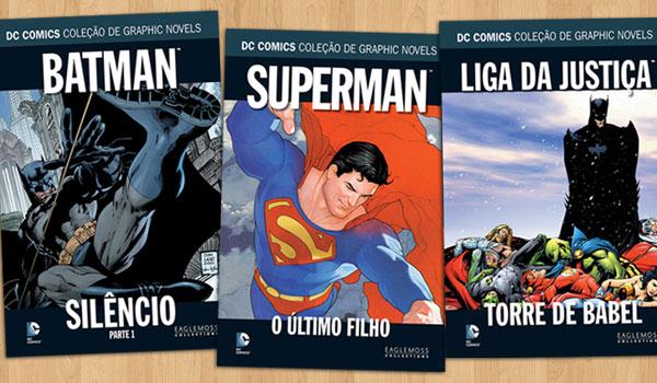 DC Comics Coleção de Graphic Novels Eaglemoss