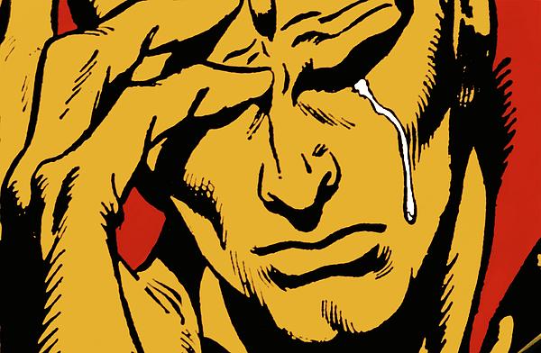 Chorando se foi quem um dia só me fez chorar...
