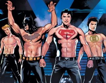 O Fator Fan Service Nos Personagens Masculinos de Super-Heróis