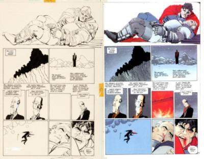 O quadro 6 é apenas um espaço vazio antes do colorista finalizar a página.