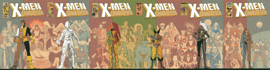 X-Men-Grand-Design-issue-1-thru-6-tapestry