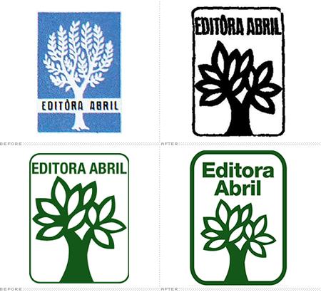 abril logos