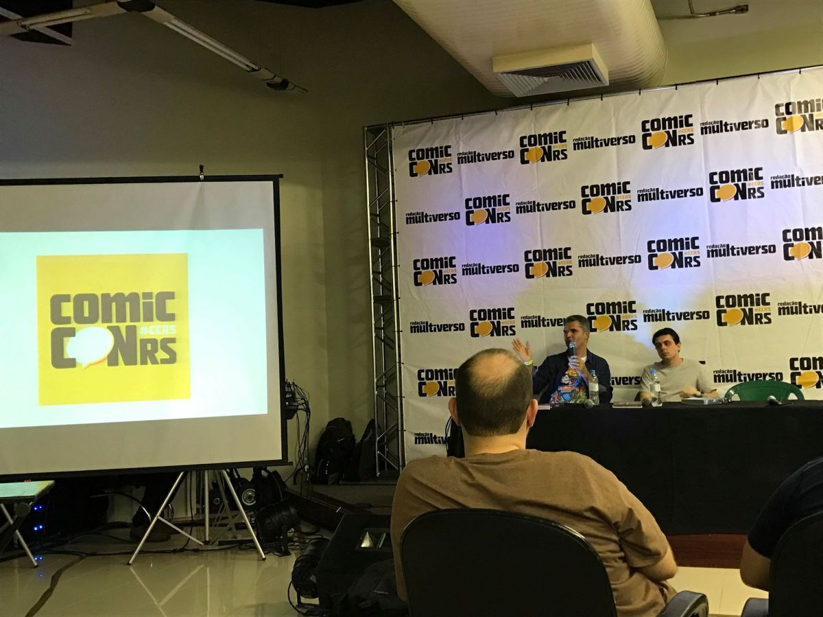 Levi Trindade Revela Novidades da Panini Comics na Comic Con RS 2018