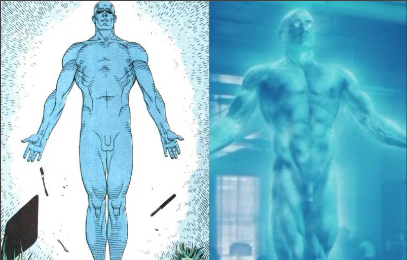 Watchmen doctor manhattan penis