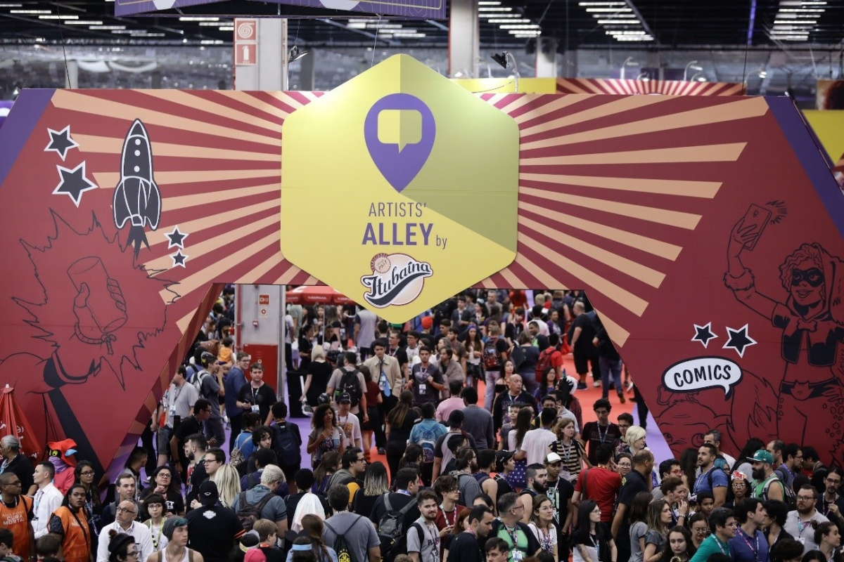 A Comic Con Experience e os Reflexos da Crise Editorial
