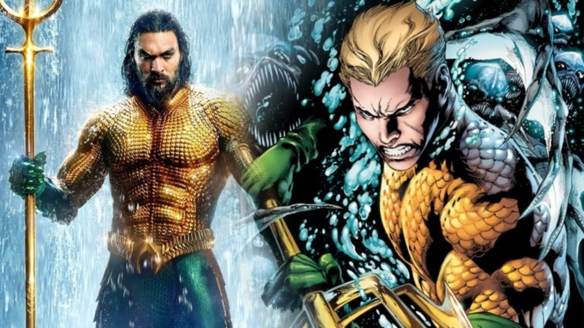 Diferenças e Semelhanças Entre o Filme do Aquaman e Seus Quadrinhos